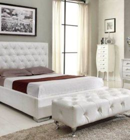 Kamar Set Minimalis Putih Snow Button