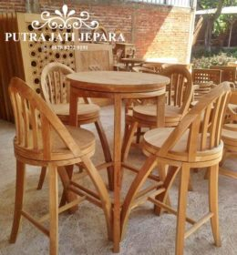 Set Kursi Bar Stool