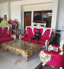 Set Sofa Tamu Bellagio Ukiran Mewah